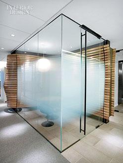 Mamparas de baño Madrid efecto hielo