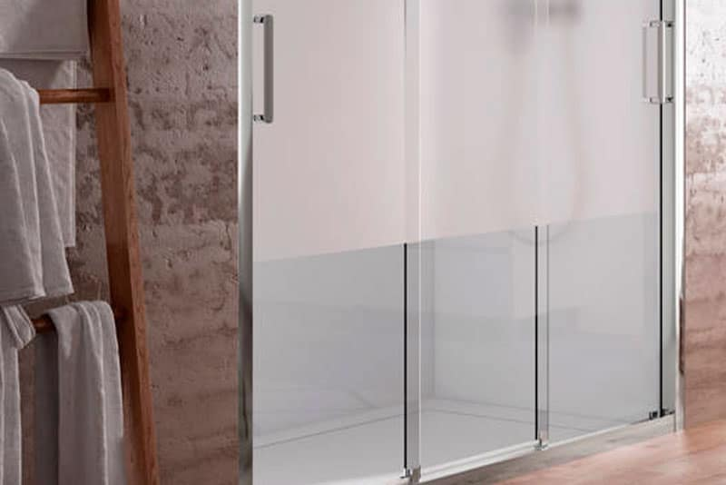 mamparas para cuartos de baño pequeños